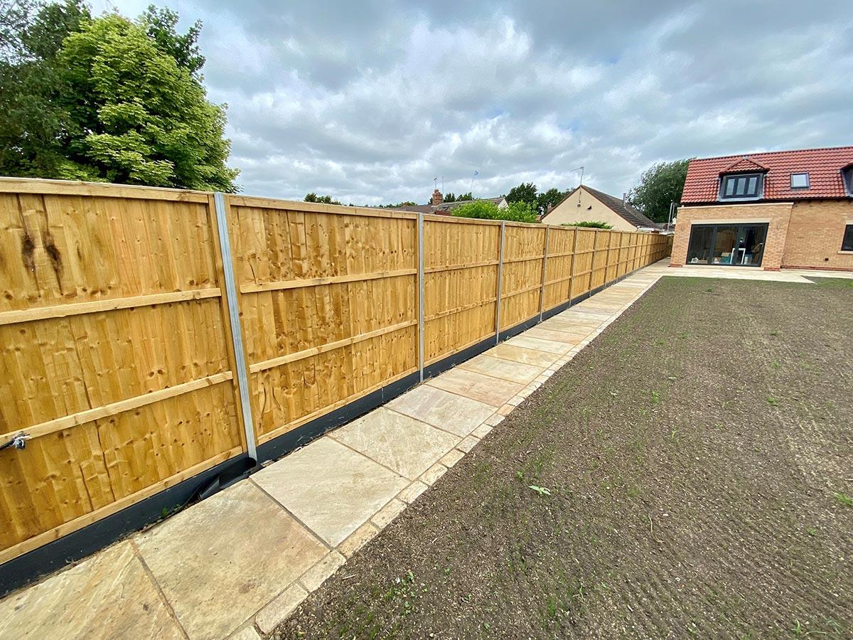 Glinton Peterborough fencing 2