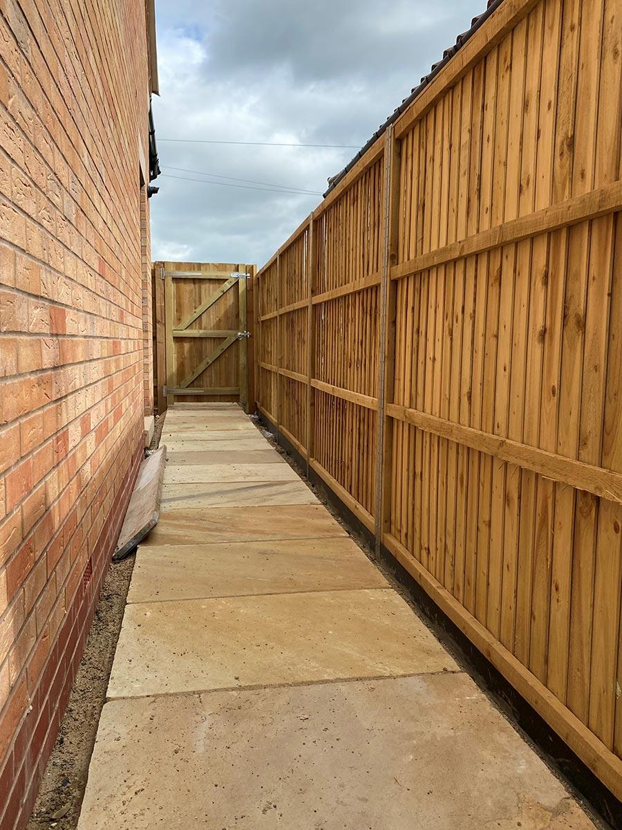 Glinton Peterborough fencing 3