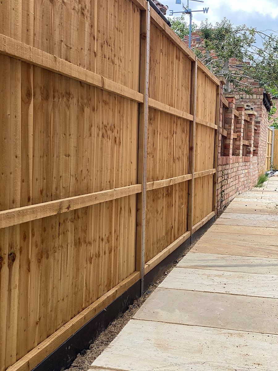 Glinton Peterborough fencing 4