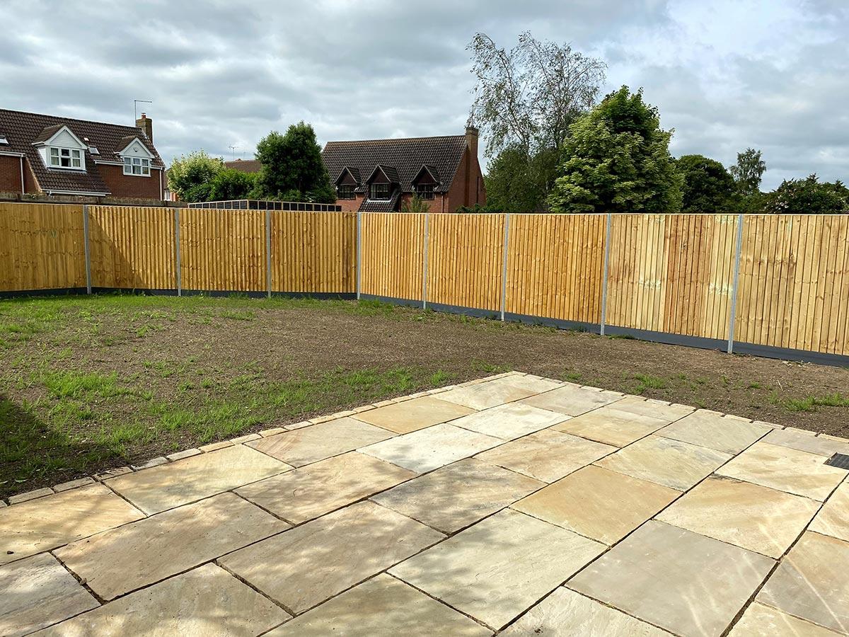 Glinton Peterborough fencing 6