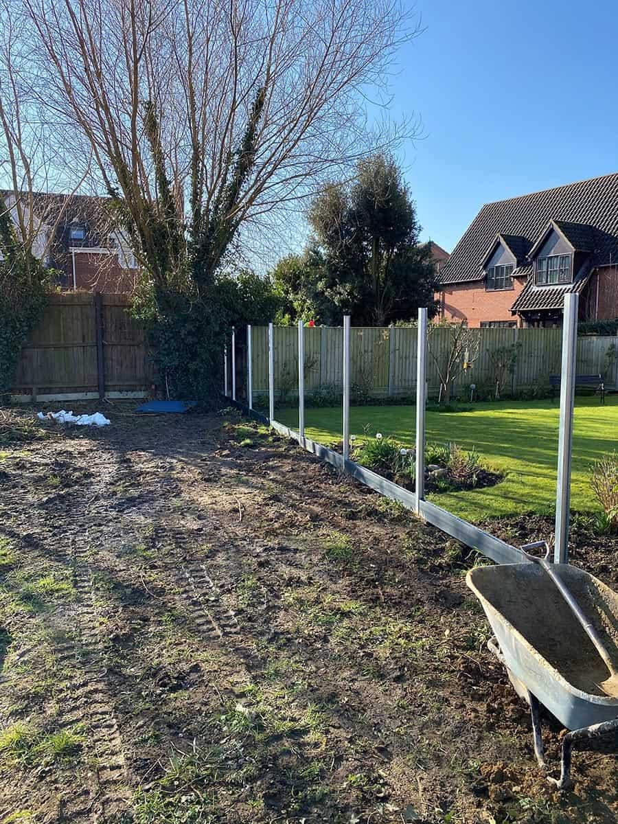 New build fencing contractor 1