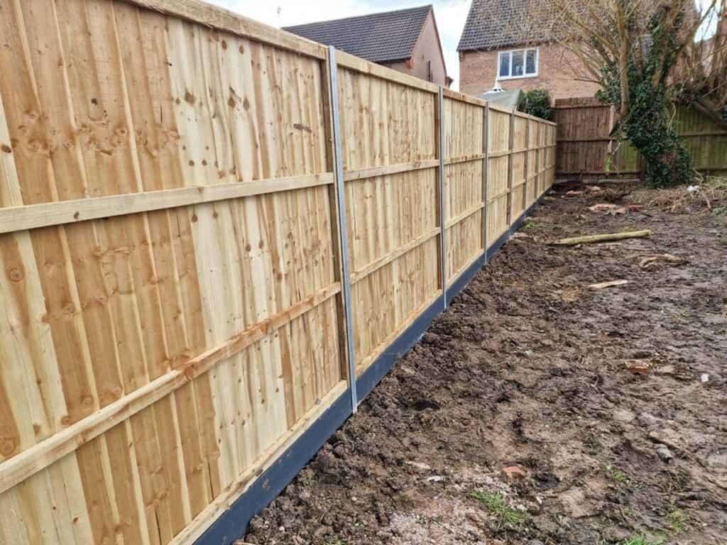 New build fencing contractor 2