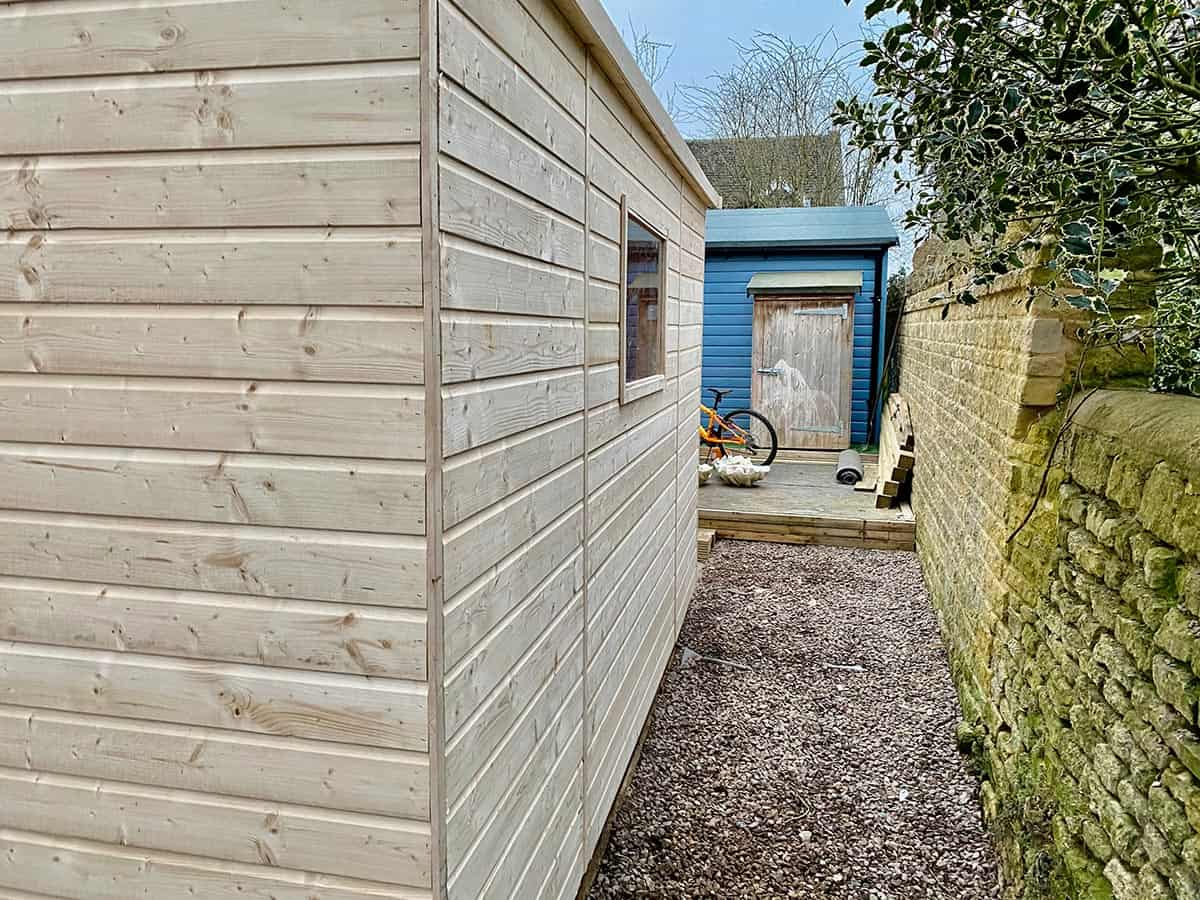 Peterborough Shed Installation