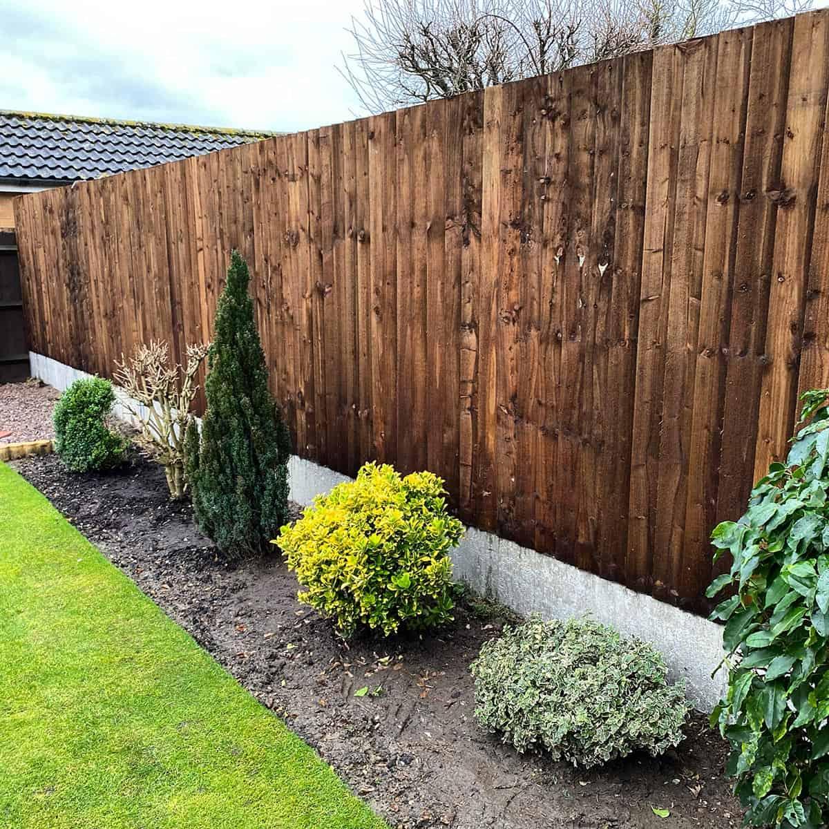 Spalding garden fencing 2