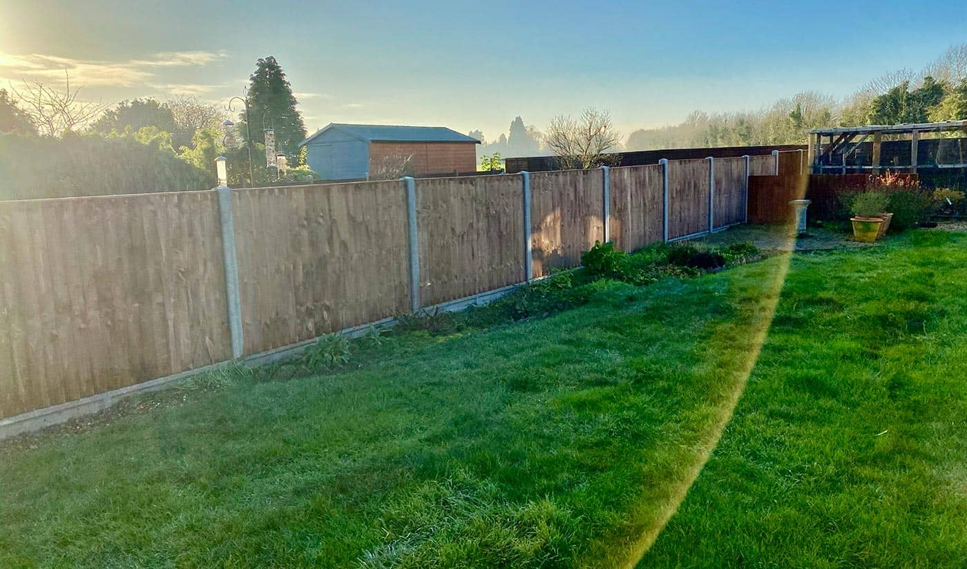 Thorney fencing contractor