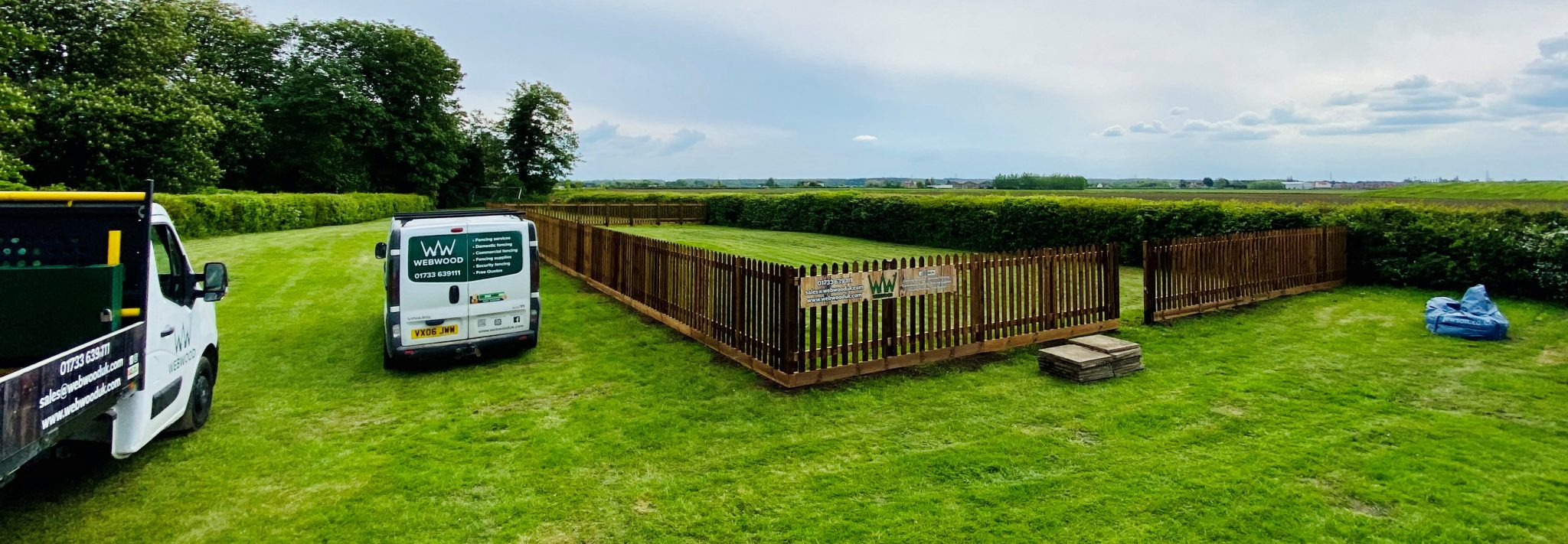 picket fencing enclosure for pub 4
