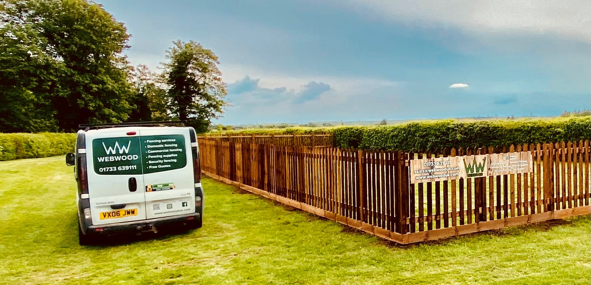 picket fencing enclosure for pub 5